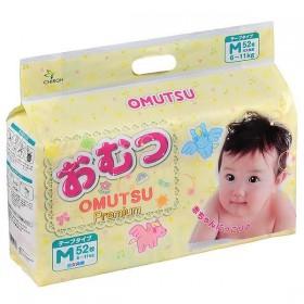 Omutsu Подгузники для новорожденных  M 52 шт.   6-11 кг