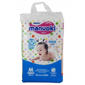 Manuoki (Мануоки) Трусики-подгузники M 6-11 кг. 44 шт.
