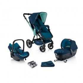 Детская коляска Concord Wanderer TS + Mamabag Aqua Blue (3 в 1)