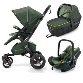 Concord Детская коляска  Neo Travel Set (3 в 1) L.E. Jungle Green 2016