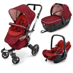 Concord Детская коляска  Neo Travel Set (3 в 1) Tomato Red 2016
