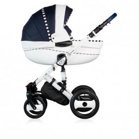 Детская коляска 3 в 1 Dada Paradiso Group (DPG) Stars экокожа