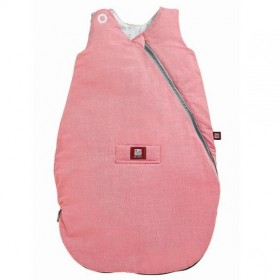 RED CASTLE спальный мешок детский SLEEPING BAG CHAMBRAY 0-6 M ROSE/BLEU