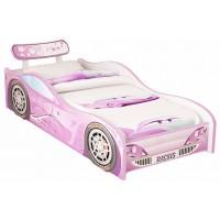 Детская кровать-машина Red River Молния эконом (для девочки)
