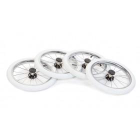 Колеса Reindeer надувные белые Ø35см