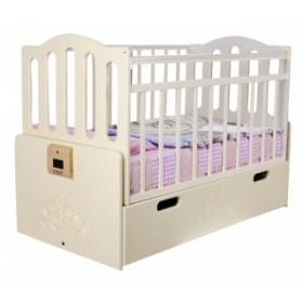 Daka Baby кроватка Укачай-ка 03 поперечный маятник с автоматическим укачиванием