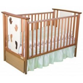 Papaloni кроватка Aura продольный маятник