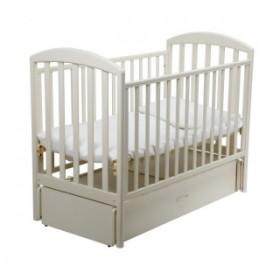 Papaloni кроватка Джованни продольный маятник 120х60