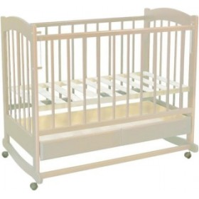 Ведрусс кроватка Радуга колесо-качалка