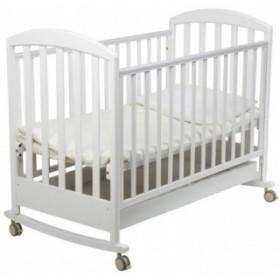 Papaloni кроватка Джованни колесо-качалка 120х60
