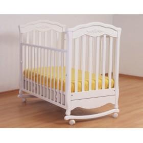Gandylyan кроватка Шарлотта колесо-качалка
