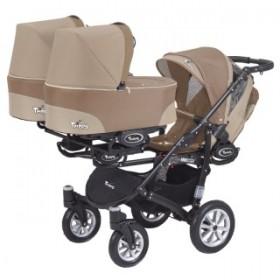 Baby Active Trippy коляска 3 в 1 для тройни