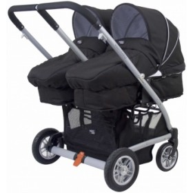 Valco Baby прогулочная коляска Zee Spark Duo для двойни