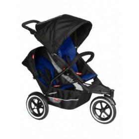 Phil&Teds прогулочная коляска Explorer для двойни