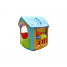 Marian Plast домик игровой Гараж+Кухня 665