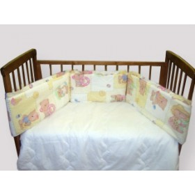 Bombus бортик в кроватку Мариша